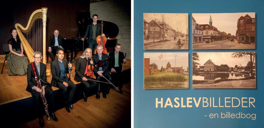 Ensemble Storstrøm og bog af Faxe Kommunes Arkiver