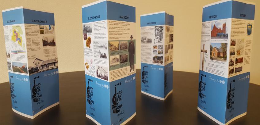 Haslev Stationsby 150 år - Den Nye By