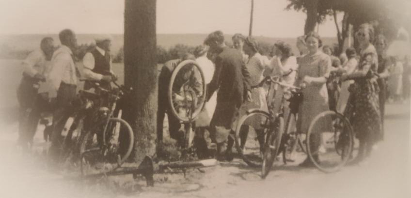 Cykellapning 1940