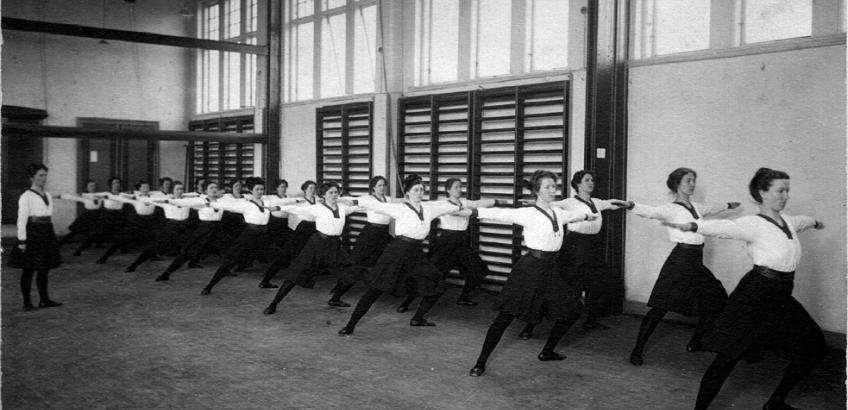 Damegymnastik, Haslev Seminarium