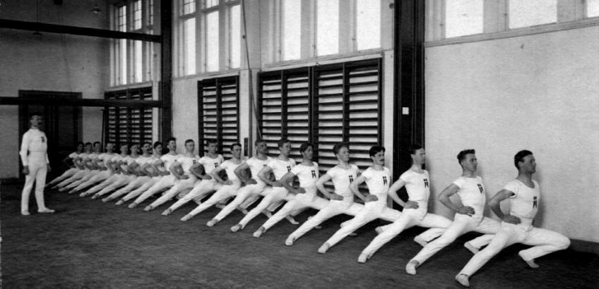 Herregymnastik, Haslev Seminarium