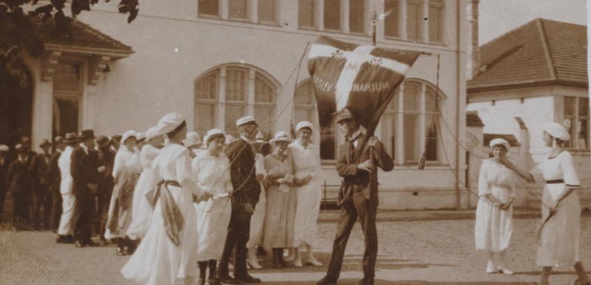 Lærerstuderende  1920, Haslev Seminarium