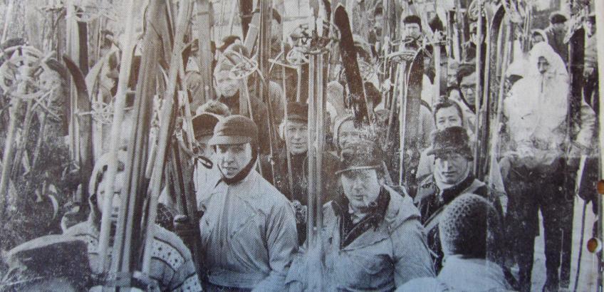 DM ved Skibøb i Haslev 1942