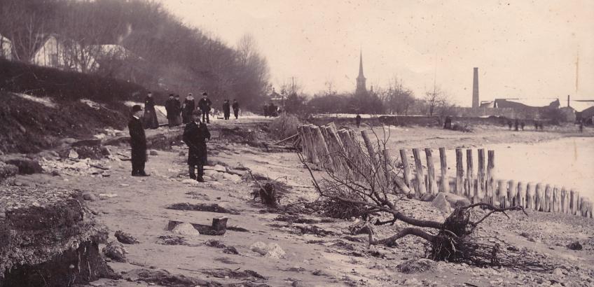 Efter stormflod 1904