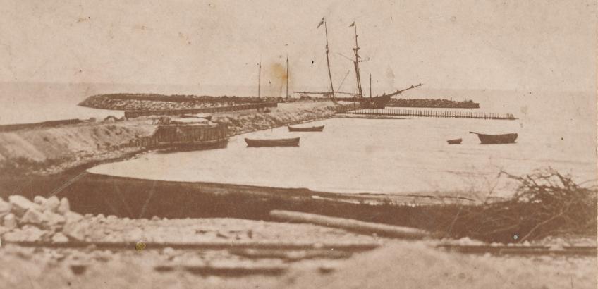 Rosendal havn - den lille havn