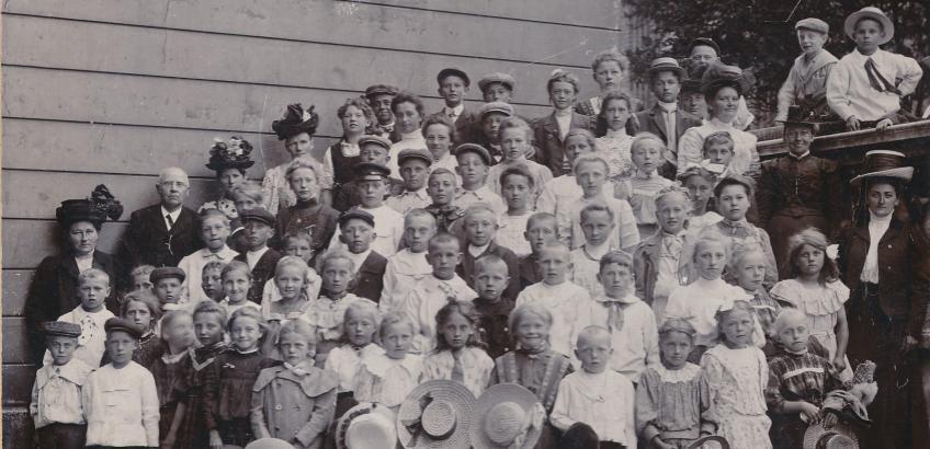 Borup Skole 1890