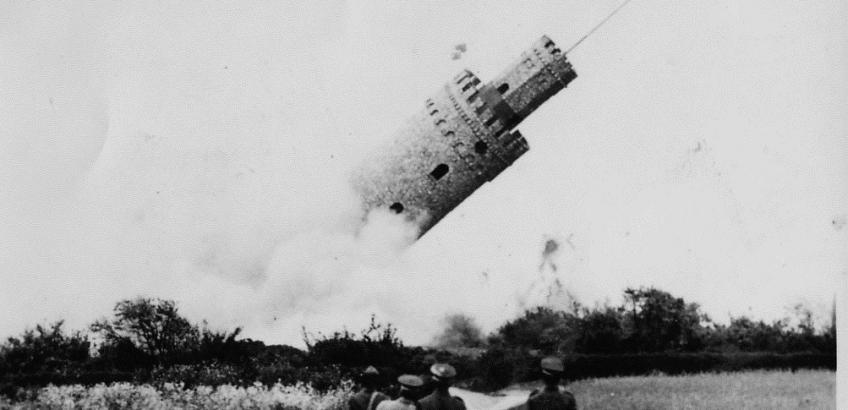Rollotårnet sprænges 1950