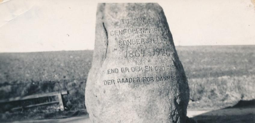 Faxe-stenen. Fra Faxe Kommunes Arkivers samling.
