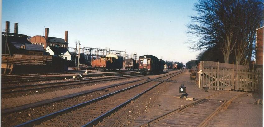Haslev station 1963 1