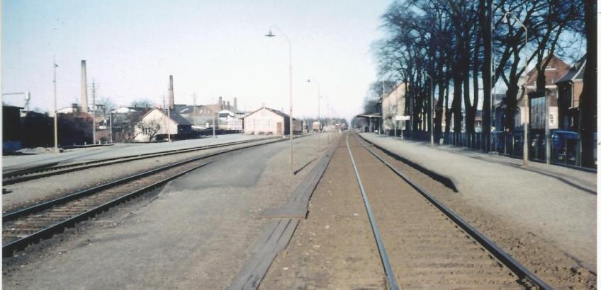 Haslev station 1963 2