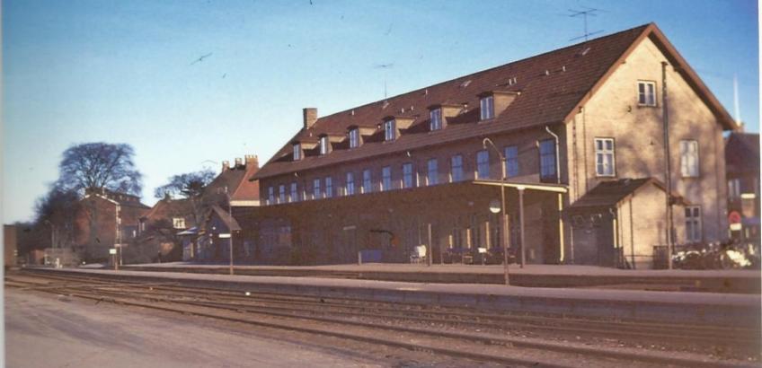 Haslev station 1963 3