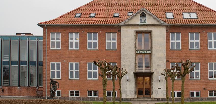 Faxe Kommunes rådhus i Haslev