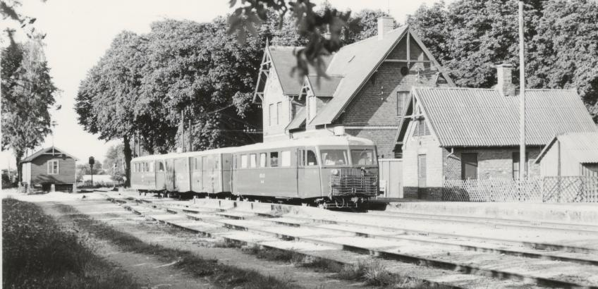 Vallø station 1970