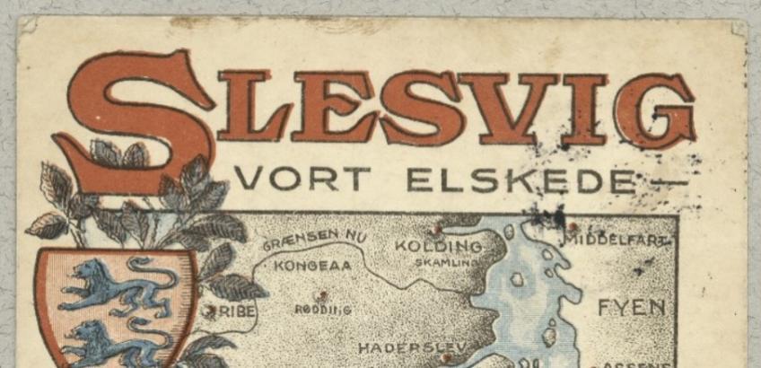 Udsnit fra valgplakat 1920. Fra Det Kgl. Biblioteks billedsamling.
