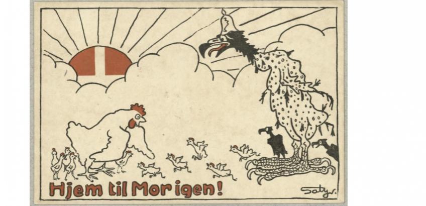 Valgplakat 1920: Hjem til mor igen!