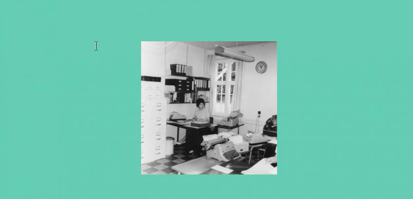 Ellen Andersen, Sdr. Dalby kommunekontor 1965