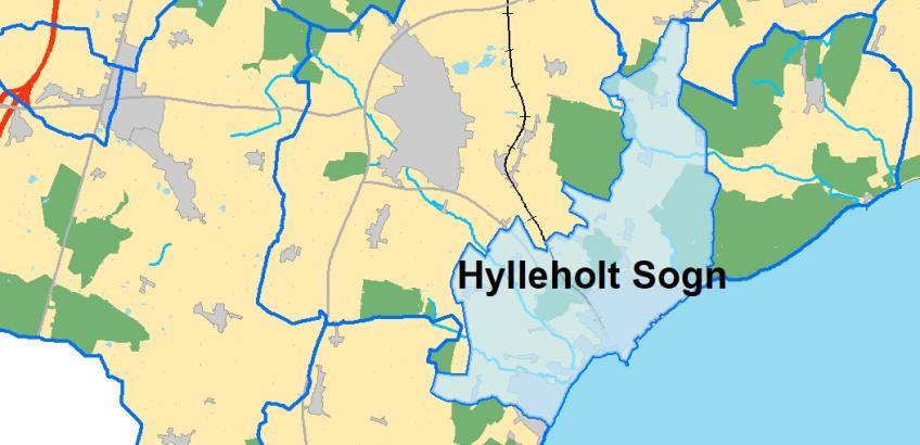 Hylleholt Sogn