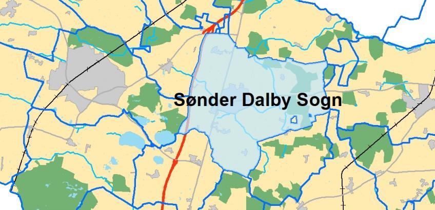 Sønder Dalby Sogn