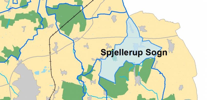 Spjellerup Sogn