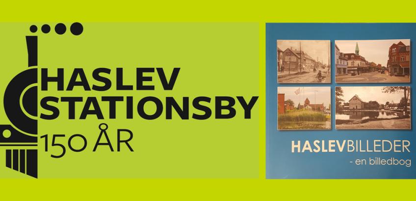 Haslev Stationsby 150 år og jubilæumsbog